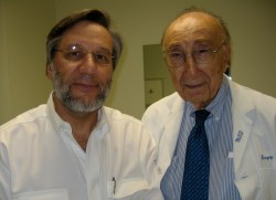 Dr. Samuel Wise and Dr. Michael DeBakey