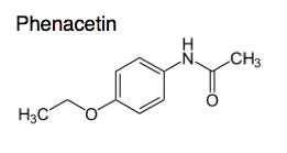 phenacetin was observed then synthesized and has been independently marketed since 1887 it is called acetaminophen or paracetamol or apap or tylenol